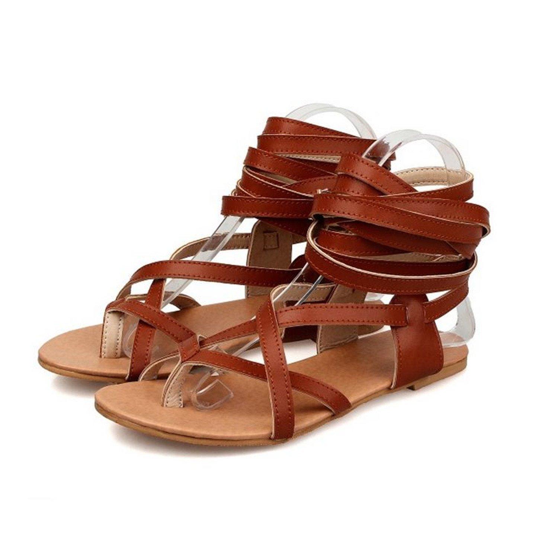 fbb64e18420ac Get Quotations · Feilongzaitianba Flat Sandals For Women On Sale Under 82 Women  Flat Shoes Lace-Up Sandals