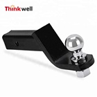 "2"" Tow Bar Tongue Hitch Trailer Hitch Ball Mount"