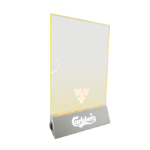 Led acrylic table menu card display holder stand