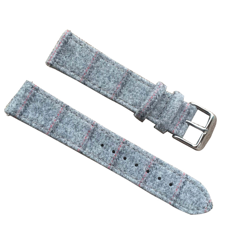 Charm Cotton Watch Strap Leather Western Watch Band For Men and Women