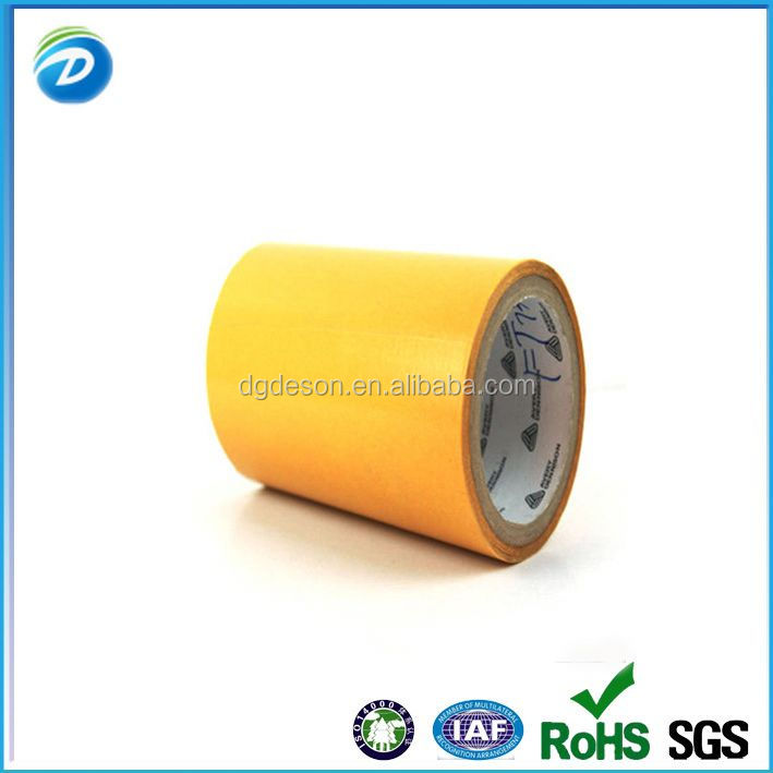 Permanent Double Sided Vinyl Tape with Liner