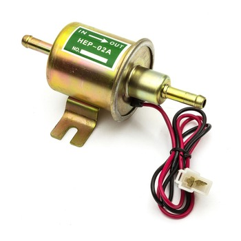 Atv Motorcycle 12v Petrol Sel Gas Universal Inline Electric Fuel Pump Hep 02a Low Pressure