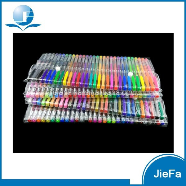 For Coloring Book,Drawing Wholesale manufacturer Cheap 160 Unique Multicolor Ink Gel pen Set