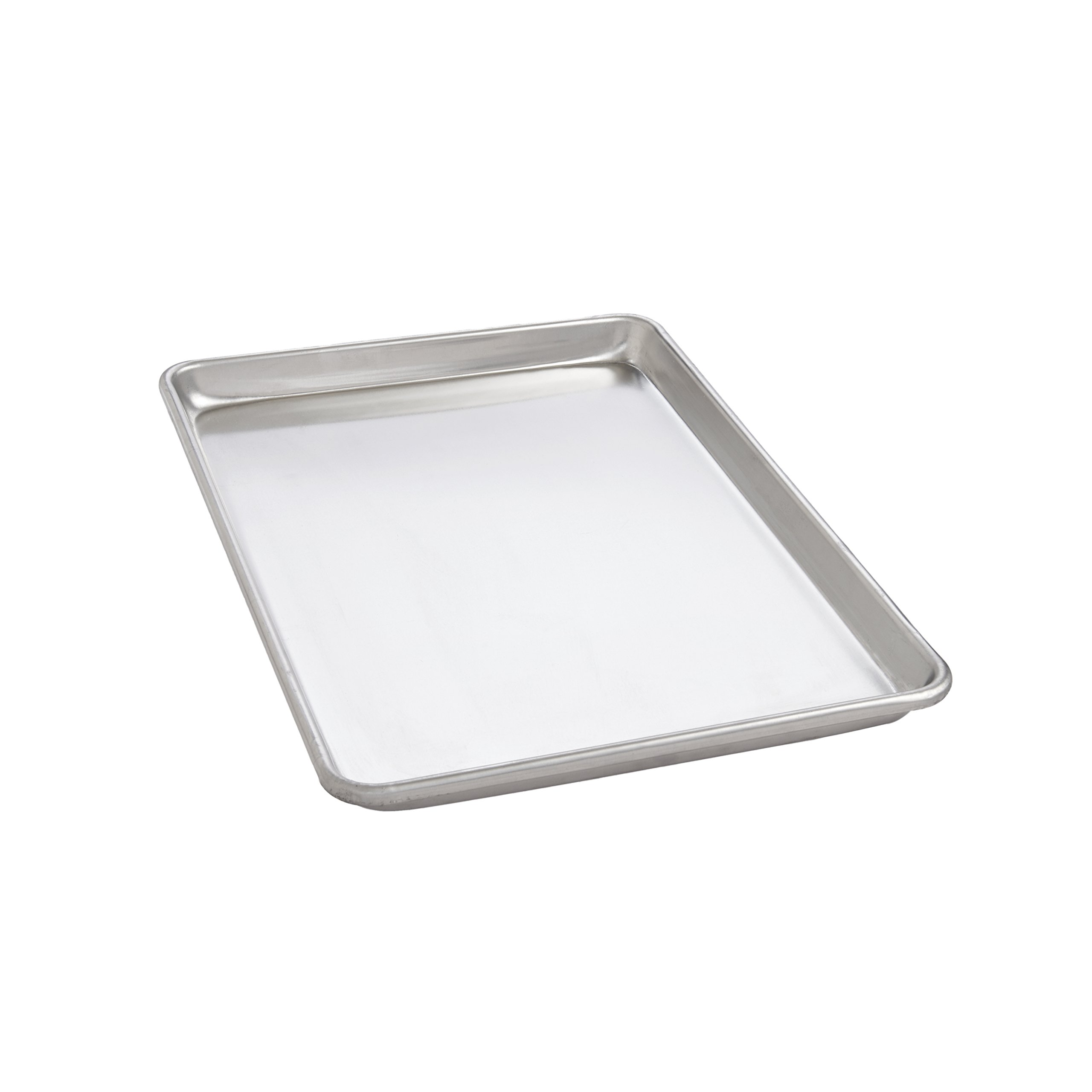 Mrs. Anderson's Baking Jelly Roll Pan, 10.25-Inches x 15.25-Inches, Heavyweight Commercial Grade 19-Gauge Aluminum