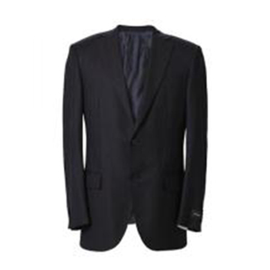 Gentle fittable pinstripe suit for men
