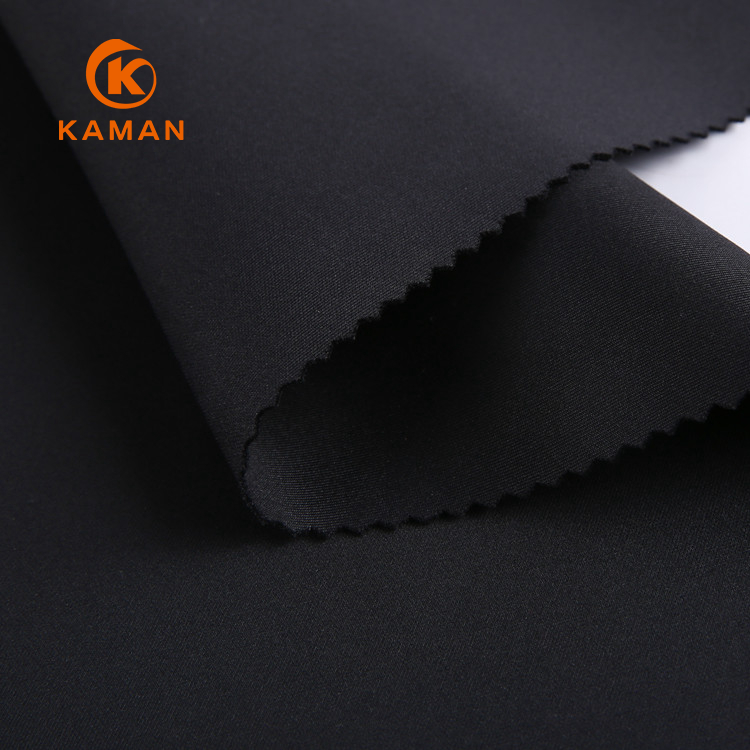 new design cloth material spandex polyester tube knit fabric single jersey