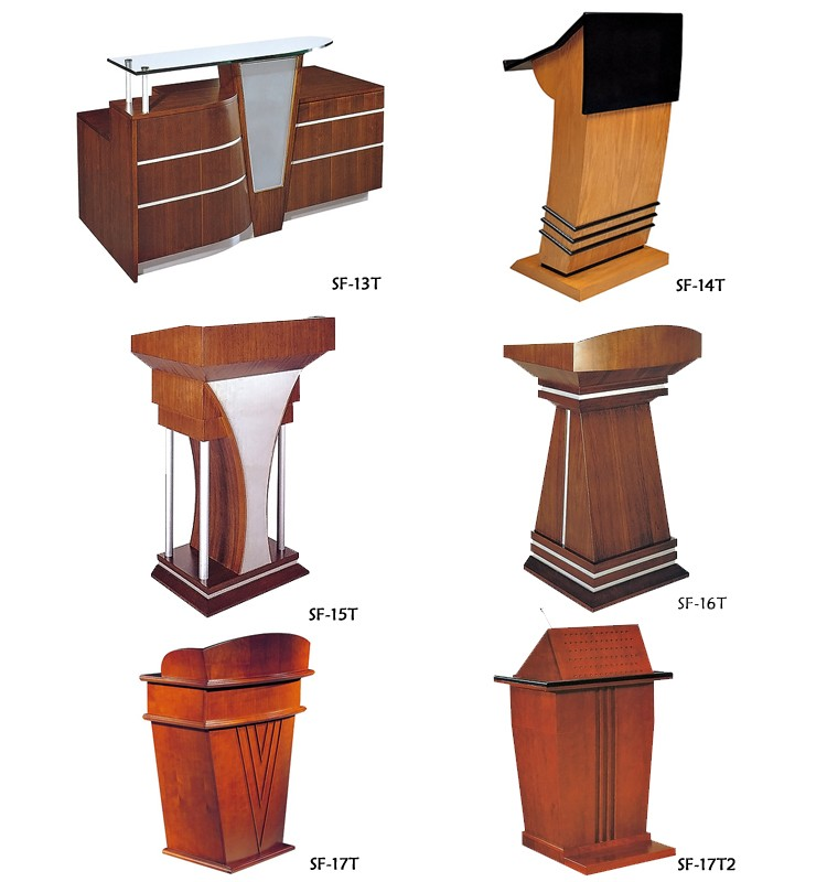Good Quality University Modern Church Pulpit Design Lecture Table ...