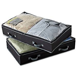 Get Quotations · Studio 3B™ Underbed Storage Bags (Set of 2) (Black)  sc 1 st  Alibaba & Cheap Underbed Storage Bags find Underbed Storage Bags deals on ...