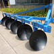 Tractor disc implements/three disc plough price