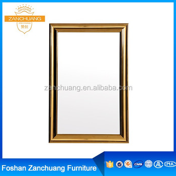 Mirrored Furniture Framed Gold Stainless Steel Bathroom Retractable ...