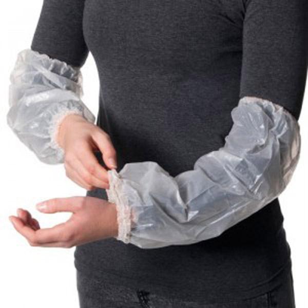 plastic Sleeve Cover. PE sleeves, over sleeves
