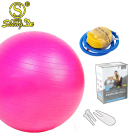 Private label sports equipment 65cm gym ball for yoga