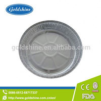 Goldshine aluminum foil Round tray Y4512 disposable container for takeaway food