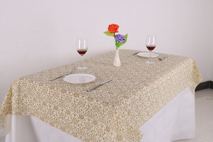 Whole Plastic Printed Table Covers Thick Cover Roll Pe Restaurant Cloth Made In China