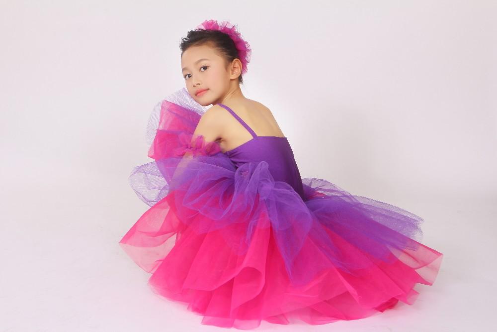 J000126 Niñas Rosa Princesa Tutú Emparejado Adolescentes Vestidos De ...