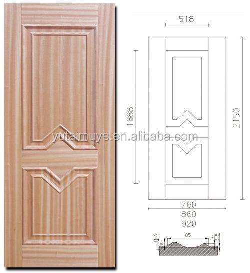 China Suppliers Deep Moulded Door Skin Wood Veneer Door Skin For ...