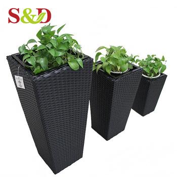 S D Outdoor Garden Handmade High Quality Plastic Plant Pots