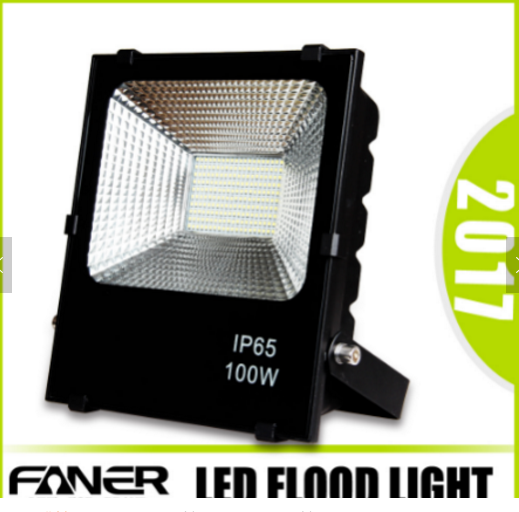 rgb led flood light 100 watt high power led flood light housing IP65 Waterproof driver