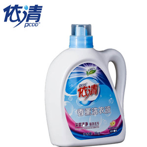 3.0 KG Cheap price Strong Lavender Perfume Liquid Laundry Detergent with enzyme and perfume