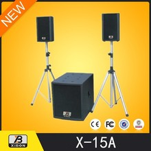 Outdoor altavoz cubre impermeable profesional pa speaker crossover