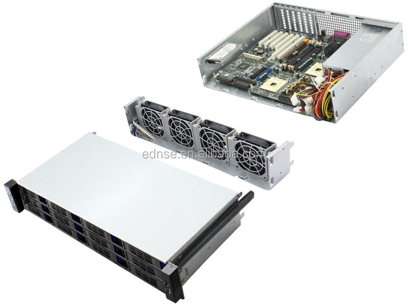 2u Rackmount 12 Bay Hot Swap Server Chassis Oem / Odm Factory In ...