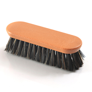 Inventory feature Soft bristles shoe cream brush horse hair animal leather brush