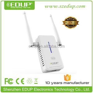 Wireless Dual Band Wifi Repeater 802.11N/B/G LAN Network Range Extender 750M EP-2931