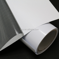 professional hot selling export good quality removable printable pvc window graphic film one way vision perforated vinyl sticker