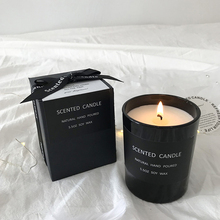 2018 New custom Scented Candle in glass Jar cera <span class=keywords><strong>de</strong></span> soja 100% natural scented <span class=keywords><strong>velas</strong></span> <span class=keywords><strong>de</strong></span> <span class=keywords><strong>aniversário</strong></span> <span class=keywords><strong>de</strong></span> luxo