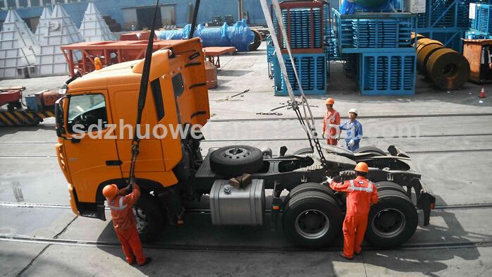 Ikinci el Sinotruk howo kamyon 6x4 Traktör kafa