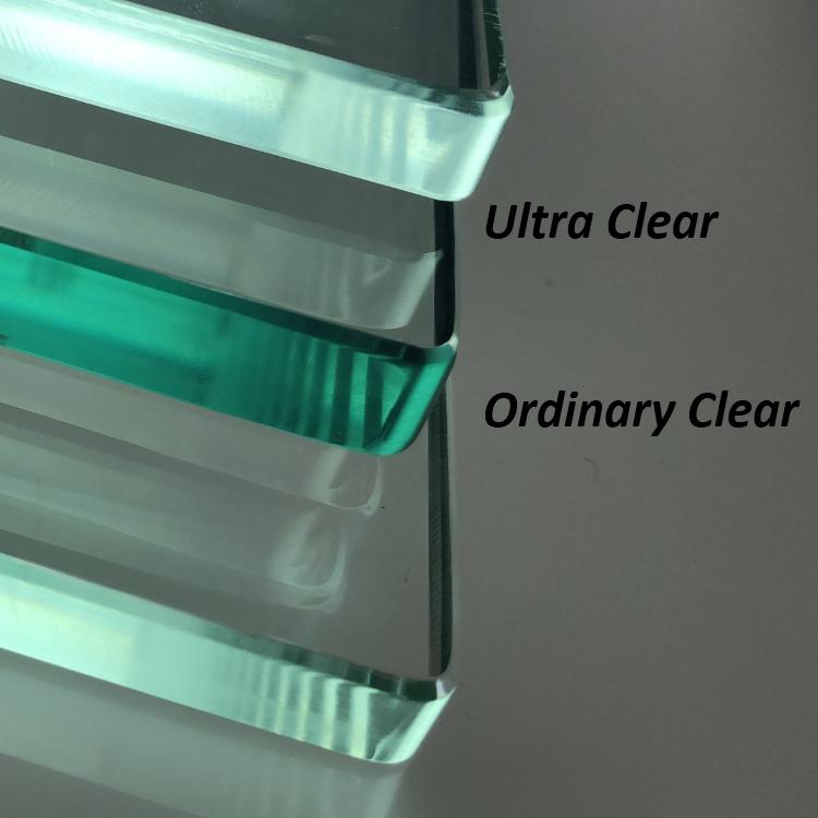 China de fábrica 12mm 6mm 10mm flotado claro de vidrio templado precio al por mayor