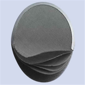 Metal filter discs for metallurgy new technology product in china