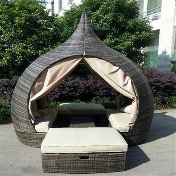 2015 Heiss Verkauf Wicker Outdoor Bett Designmobel Buy Bett Design