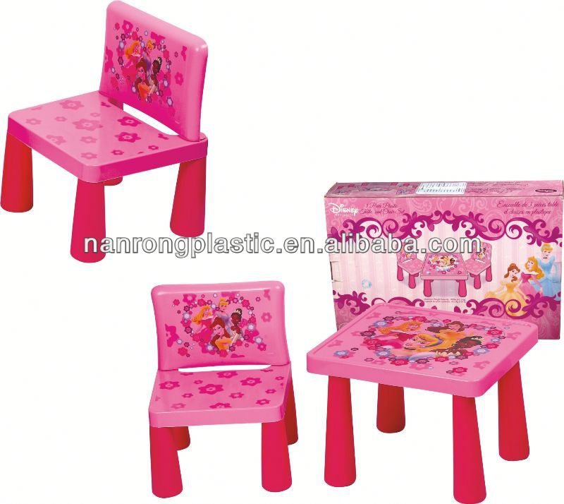 2013 New style wholesale high quality plastic children table and chair evenflo high chair