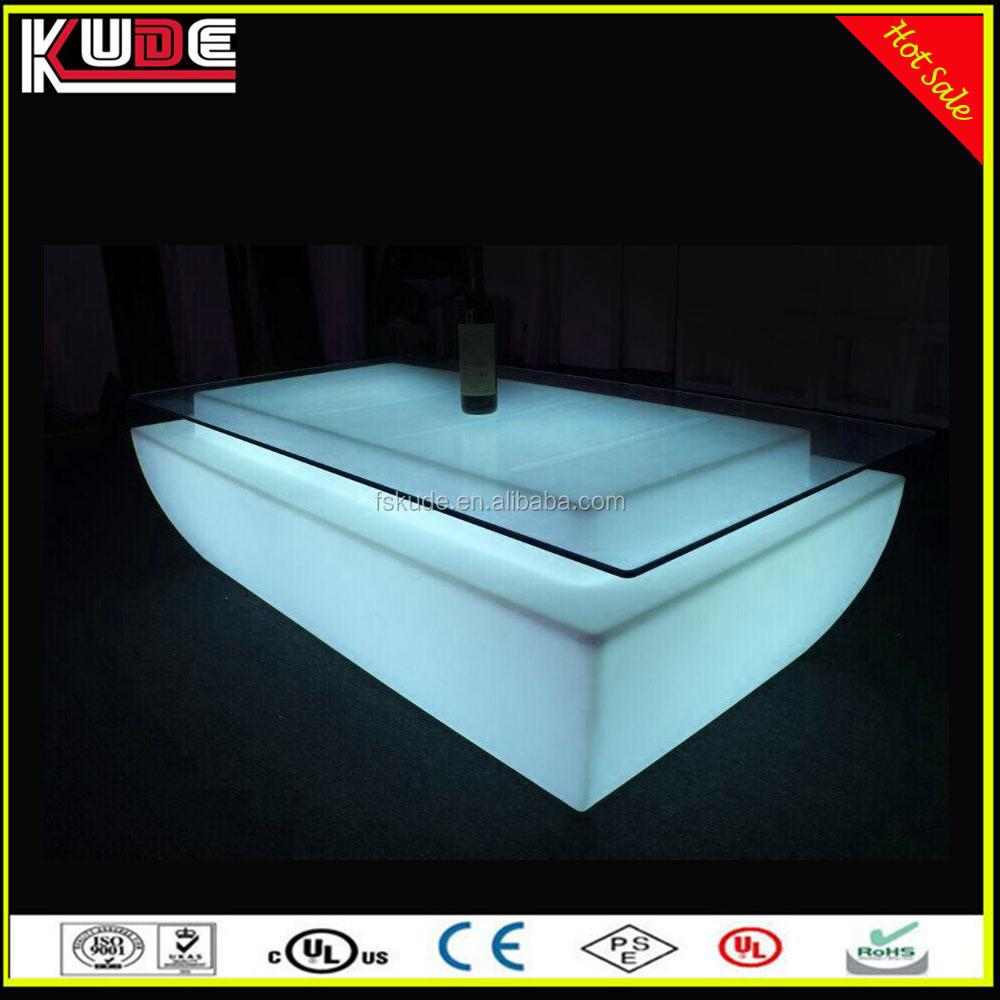 Led Coffee Table Set: New Stylish Sofa Set Led Coffee Table/led Glowing