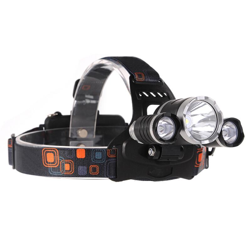 Led Spotlight Headlamp: Waterproof Headllight CREE XML T6 5000 Lumens LED Headlamp