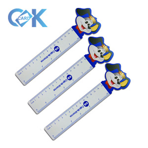 Custom Logo Printing Plastic Straight Ruler For Promotion Gift
