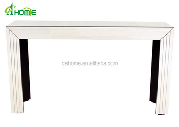 Slim Stripes Wall Side Hobby Lobby Tables Conner Mirrored Console Table