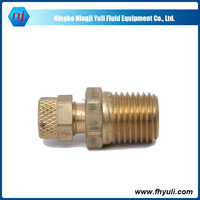 China supply High Quality male hose Hydraulic Brass Adapter