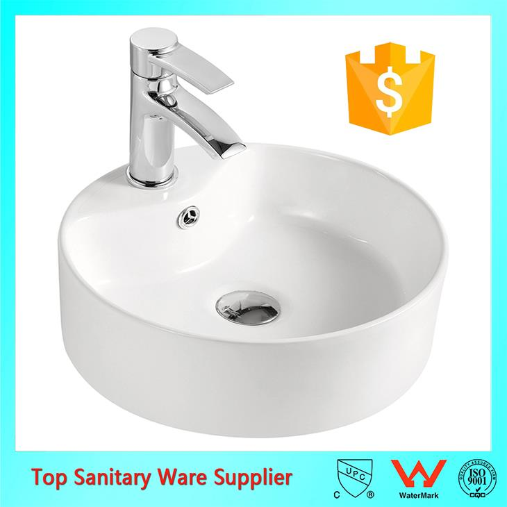 best selling hot product with cupc/csa above counter wash basin