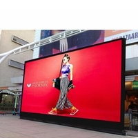 Programmable led advertising sign P3.91 P4 P4.81 led scrolling moving message billboard