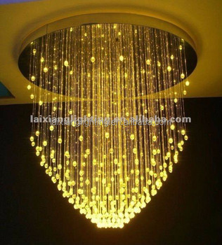 2017 Hot New Residential Products For Size Rgb Color Pendant Chandelier Side Glow Fiber Optic Light Night