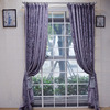 Fashion European romantic jacquard blackout fabric and voile for hotel window curtain