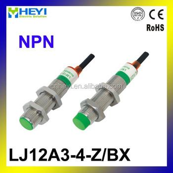Lj12a3-4-z/bx 6-36vdc Npn 3-wires Proximity Switch Normally Open ...