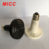 MICC cound shape white black yellow infrared ceramic heating lamp