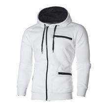 Men's safe and soft fit full zip hooded sweatshirt