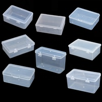 Fantastic PP Plastic Storage Hinged Box for Screws