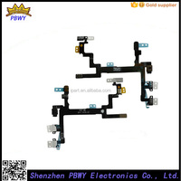 Factory Price Power Flex Cable For Iphone 5 On Off Flex, For Iphone 5 Power Button Volume Button