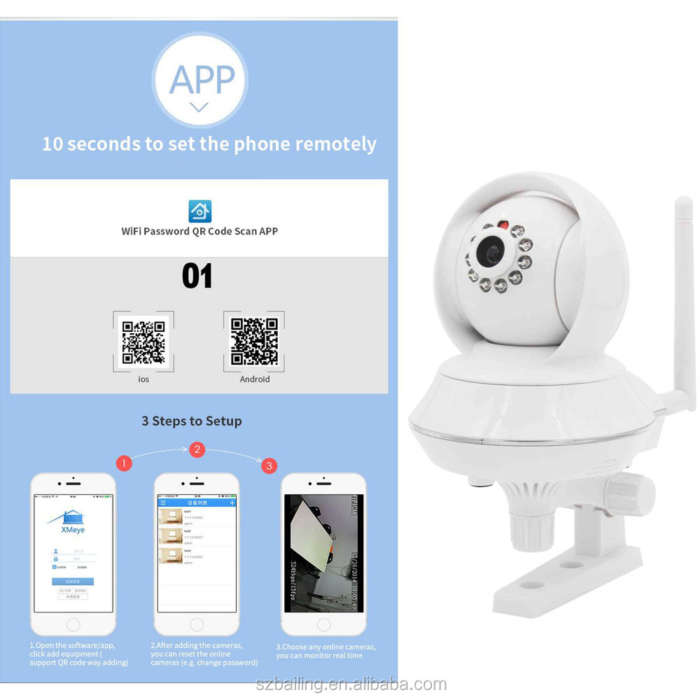 China Suppliers Wireless Wifi Camera Support Ios/android Phone ...