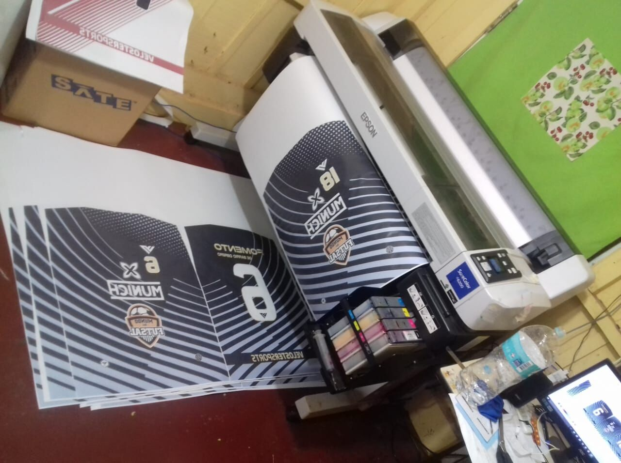 for Epson F Series F6200 F7200 F9200 Sublimation Ink with Chips